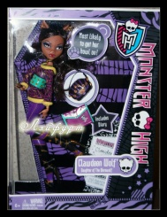 Monster High Clawdeen Wolf shcool out (Клаудин скул аут)