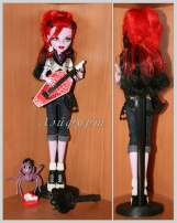 Monster High Operetta (Базовая Оперетта) c питомцем