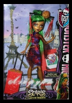 Monster High Scaris City of Jinafire Long Daughter of Dragon (Джинафайер, Скариж)